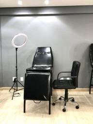 Kit para tatuador( Maca/Cadeira/Ring light)