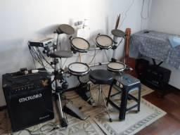 Título do anúncio: Bateria eletronica staf drums