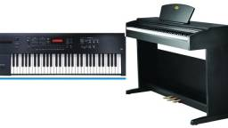 Teclado e Piano Online e Presencial