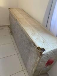 Base cama de solteiro usada