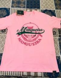 Camiseta da Escola de Samba Mangueira