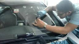 Conserto de parabrisa