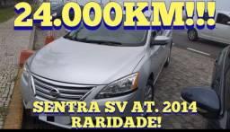 Título do anúncio: RARIDADE SENTRA SV KM 24.500