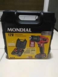 Parafusadeira e furadeira Mondial bivolt (entregamos)