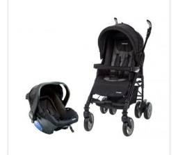Carrinho de Bebê Travel System com Bebê Conforto Infanti Perugia<br><br>