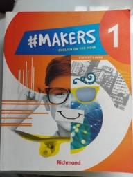 Livro de inglês Makers 1- Student Book- editora Richmond