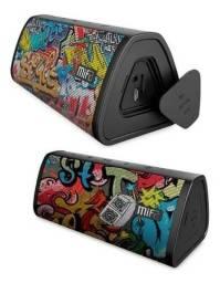 Caixa De Som Mifa A10 Bluetooth - 10w - Resistente a Água IPX5 - Black Graffiti