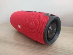 Título do anúncio: Caixa Som Bluetooth Xtreme Vermelha (22cm)