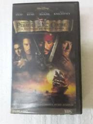 Filme - Piratas do Caribe: A Maldição do Pérola Negra Dublado fita Cassete VHS