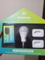 Kit Casa Inteligente Positivo (Funciona com Alexa)