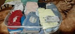 Título do anúncio: Lote de roupas de bebê