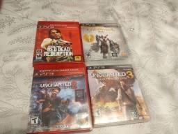 Jogos PS3 mídia física