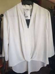 Blusa Social Branca da marca Enzo