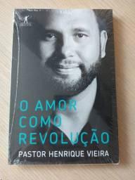 Livro O amor como revolução, Pastor Henrique Vieira - NOVO