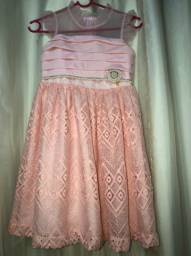 Vestido de Festa infantil (Favo)
