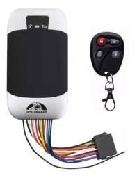 Rastreador Bloqueador GPS Veículos Carro Moto Caminhão TK 303