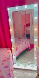 Espelho camarim+ penteadeira