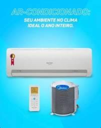 Ar Condicionado springer  9.000 mil  btu/h (já instalado)