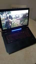 Notebook Gamer i7 e com 16 GB de RAM, com SLI De 2 GeForce 980m 8 gb cada.