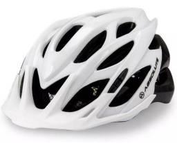 Capacete Ciclismo Bike Absolute Wild Mia Led Pisca Viseira