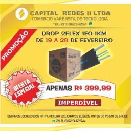 Promoção Drop Fibra 1 Km 1 Fo 2Flex