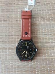 Relógio Curren Marrom e preto