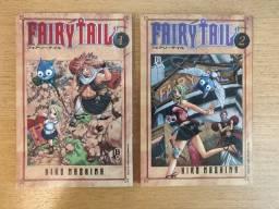 Mangá Fairy Tail - Volumes 1 e 2