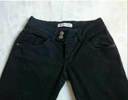 Calça jeans preta Tam 40