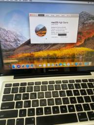 Título do anúncio: MacBook Pro 13?, com SSD e carregador original.