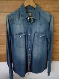 Camisa Jeans, tamanho P