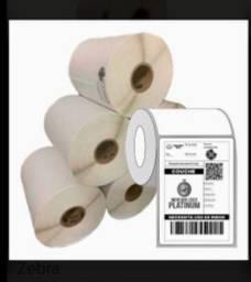 Etiquetas adesivas rolo com 480