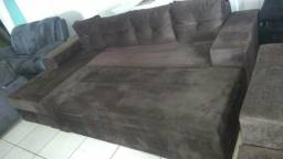 Oferta sofá chaise Grande novo $1.300.00 garantia