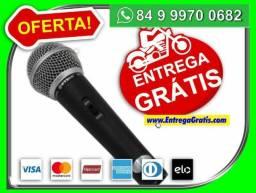 Novo= Microfone Profissional M58 + Cabo=incrivel=