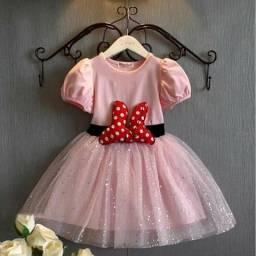 Vestido importado da Minnie
