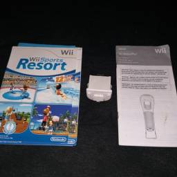 Motion plus mais Wii resort.