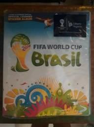 Imperdivel Album Copa do Mundo 2014 Completo Novinho