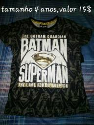 Camisas super heróis