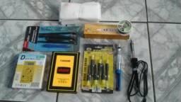 Kit iniciante para manutenção de smartphones e tablets