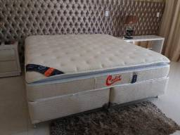 Cama box super king - Castor 5 meses de uso