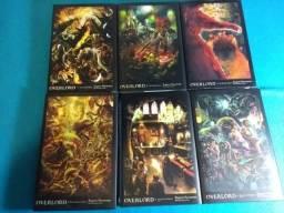 Coleção light novels overlord(em inglês) completa até o atual