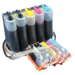 Instalação de bulk Ink Hp