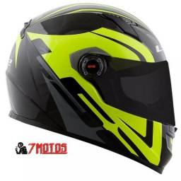 Capacete FF358 Touring Yellow - Ls2