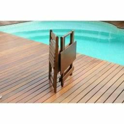 Conjunto de mesas e cadeiras 0,70x0,70 P/ bares e restaurantes(entre outros modelos)
