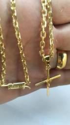Cordão banhado a ouro