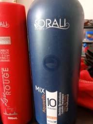 Sorali. finalizador e oxigenada linha profissional