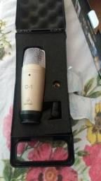 Microfone Beringuer Condensador C1.Novo na Caixa Mais cabo XLR Grande