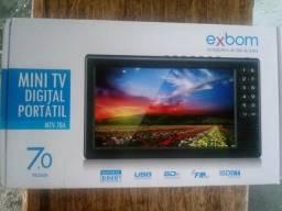 Mini TV Digital 7.0 Polegada HD