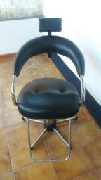 Cadeira hidraulica para cabelereiro