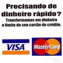Tem limite no cartão, mas precisa de dinheiro?