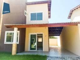 Casa Duplex 124 m² para locação, semi-mobiliada 3 suites 3 vagas, condominio, Jacundá, Eus